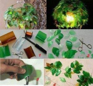 lampadario-con-le-foglie