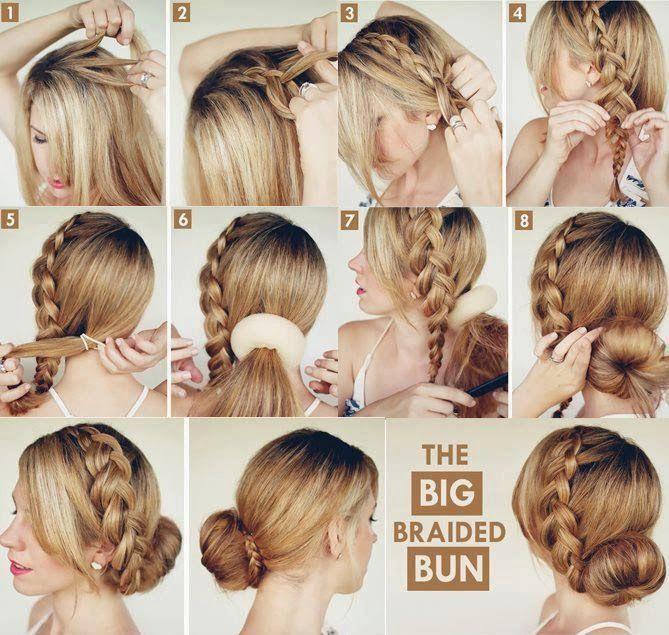 Souvent Acconciature fai da te,per donne con capelli lunghi | HelpMummy FF92
