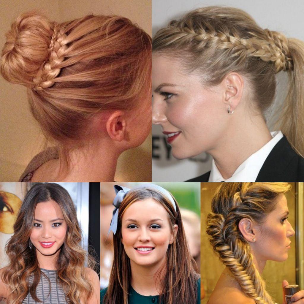 Acconciature fai da te,per donne con capelli lunghi ...