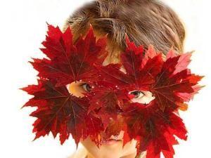 halloween-maschera-foglie