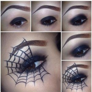 make-up-halloween-ragnatela