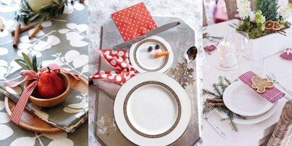 Natale in tavola helpmummy - Tavola di natale addobbi ...