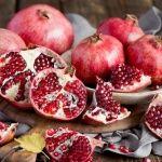 L'autunno con il menù della melagrana
