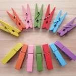 L'handmade con le mollette di legno