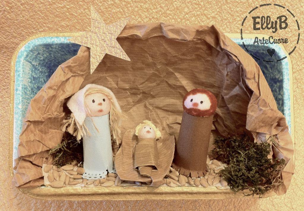 Super Il presepe di Natale,handmade dei vostri cuccioli | HelpMummy DJ99